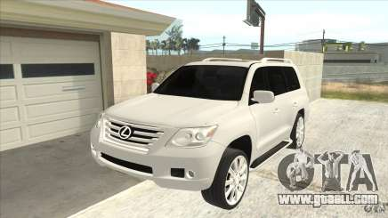 Lexus LX 570 for GTA San Andreas