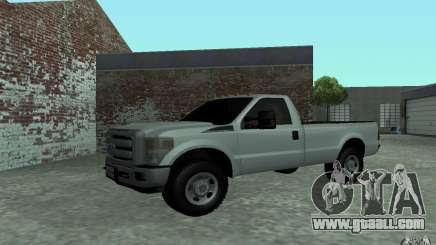 Ford F-250 white for GTA San Andreas