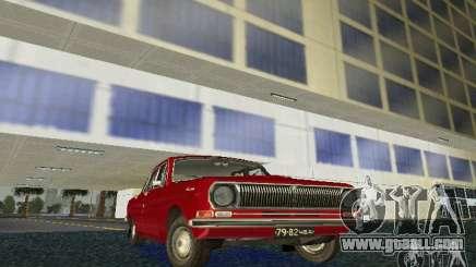 GAZ Volga 24 for GTA Vice City
