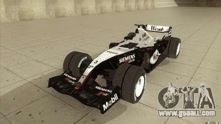 McLaren Mercedes MP 4-19 for GTA San Andreas