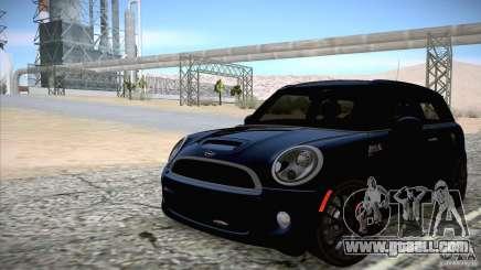 MINI Cooper Clubman JCW 2011 for GTA San Andreas