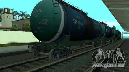 Tank wagon for GTA San Andreas