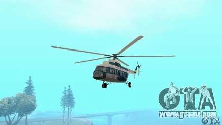 MI-17 civil (Ukrainian) for GTA San Andreas