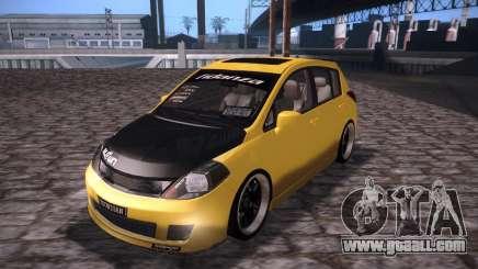 Nissan Versa Tuned for GTA San Andreas