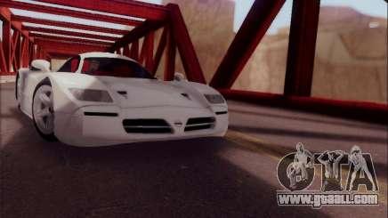 Nissan R390 Road Car v1.0 for GTA San Andreas