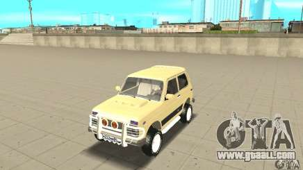 VAZ 21213 4 x 4 for GTA San Andreas