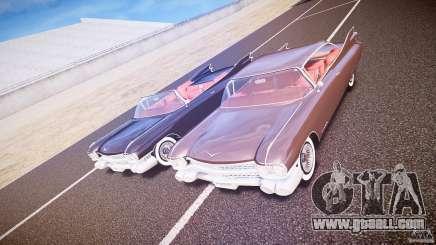 Cadillac Eldorado 1959 interior red for GTA 4