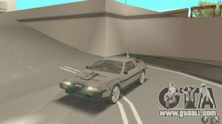 DeLorean DMC-12 (BTTF3) for GTA San Andreas