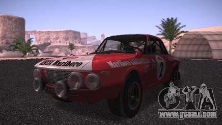 Lancia Fulvia Rally Marlboro for GTA San Andreas
