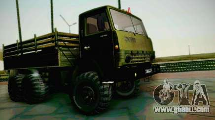 KAMAZ 4310 Army for GTA San Andreas