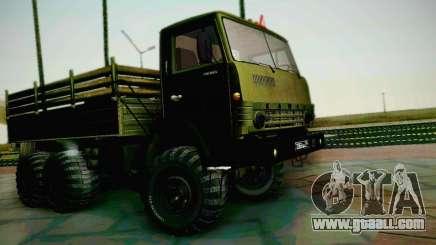 KAMAZ 4310 Army for GTA San Andreas