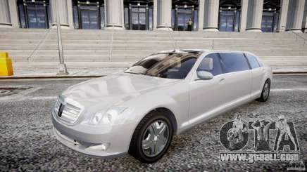 Mercedes-Benz S600 Guard Pullman 2008 for GTA 4