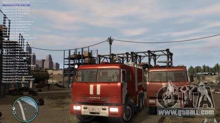 Kamaz FIREFIGHTER for GTA 4