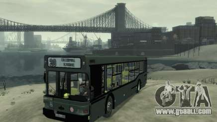 MAZ 103 Bus for GTA 4