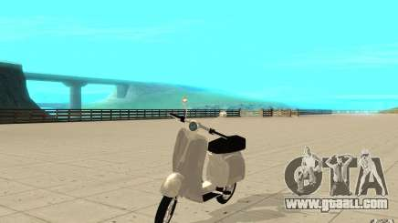 GTAIV EFLC Faggio Classic for GTA San Andreas