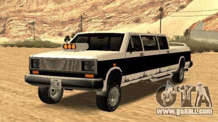 BOBCAT Limousine for GTA San Andreas