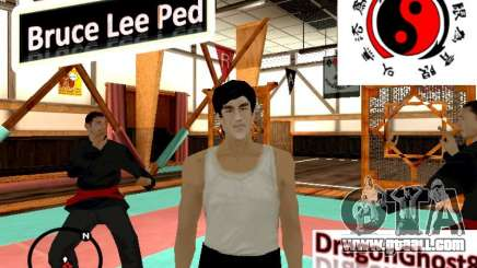 Bruce Lee Skin for GTA San Andreas