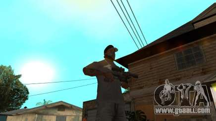 Shotgun in style revolver for GTA San Andreas