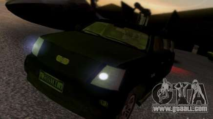 Suv Call Of Duty Modern Warfare 3 for GTA San Andreas