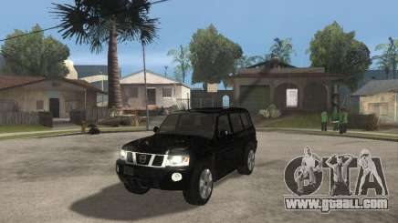 Nissan Patrol 2005 Stock for GTA San Andreas