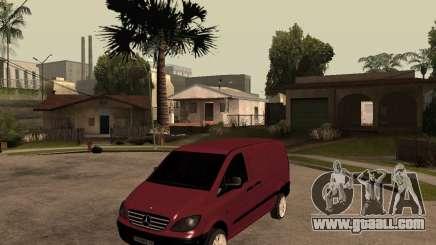 Mercedes-Benz Vito 2009 for GTA San Andreas