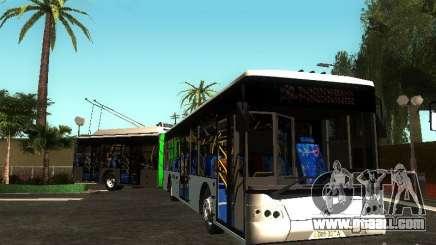 Trolleybus LAZ E301 for GTA San Andreas