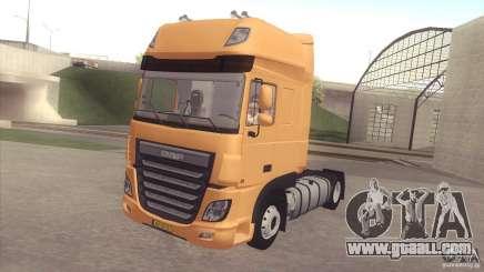 DAF XF Euro 6 for GTA San Andreas