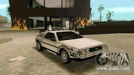 BTTF DeLorean DMC 12 for GTA Vice City