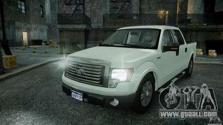 Ford F150 XLT v1.3 for GTA 4