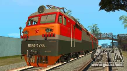Vl80m-1785 RUSSIAN RAILWAYS for GTA San Andreas