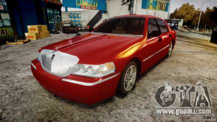 Lincoln Town Car 2003 for GTA 4