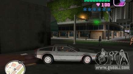 Delorean DMC-12 for GTA Vice City