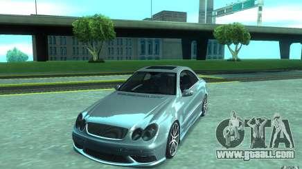 Mercedes-Benz CLK55 AMG for GTA San Andreas