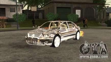 Volkswagen Phaeton chrome plated for GTA San Andreas