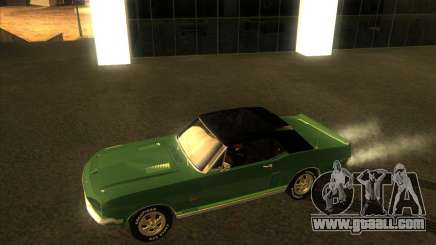 Shelby GT500KR convertible 1968 for GTA San Andreas