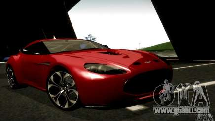 Aston Martin V12 Zagato Final for GTA San Andreas