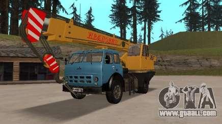 MAZ KS3577-4-1 Ivanovets for GTA San Andreas