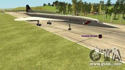 Concorde [FINAL VERSION] for GTA San Andreas