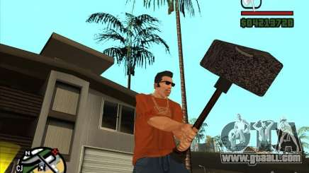 Hammer Of The WarCraft III for GTA San Andreas