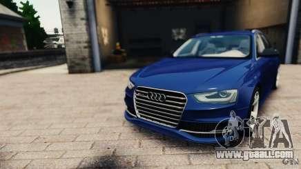 Audi RS4 Avant 2013 v2.0 for GTA 4