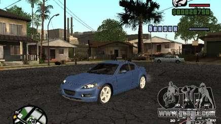 Mazda RX 8 for GTA San Andreas