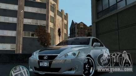 Lexus IS350 2006 v.1.0 for GTA 4