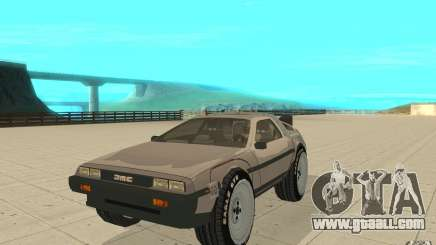 DeLorean DMC-12 (BTTF1) for GTA San Andreas