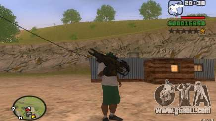 Rocket Launcher from PROTOTYPE for GTA San Andreas