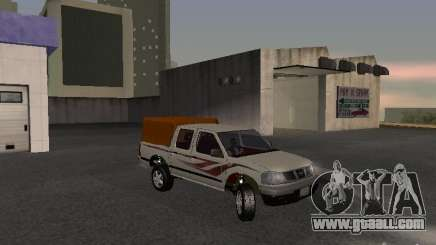 Nissan Pickup white for GTA San Andreas