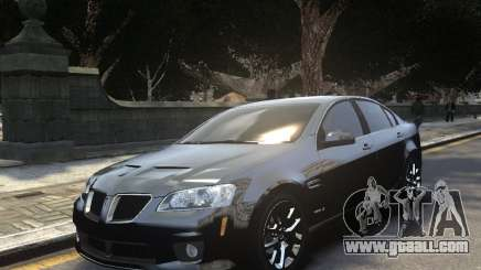 Pontiac G8 GXP for GTA 4