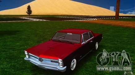 Pontiac GTO 1965 FINAL for GTA 4
