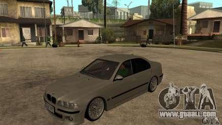 BMW E39 M5 Sedan for GTA San Andreas