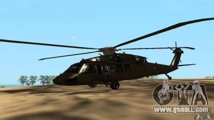 UH-60 Silent Hawk for GTA San Andreas