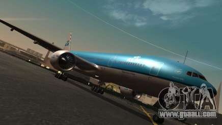Boeing 777-200 KLM Royal Dutch Airlines for GTA San Andreas